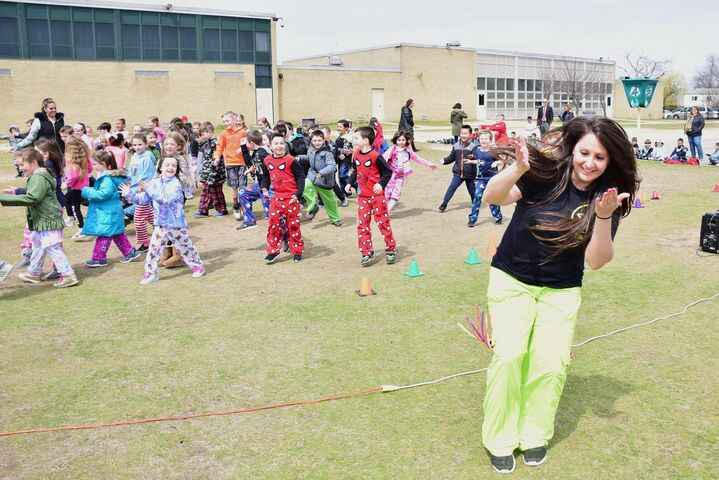Healthy bodies and minds were celebrated at Seaford Harbor Elementary School with daily activities to mark Wellness Week...