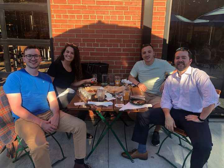 Happy Hour in Charlotte with our new Branch Manager