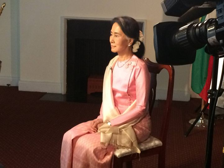 Thrilled to be able to help bring coverage of Myanmar back to American television, this time by producing an exclusive i...