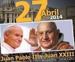 JUAN PABLO II Y JUAN XXIII, PAPAS DEL SIGLO XX  Y SANTOS DEL SIGLO XXIEL PASADO SEGUNDO DOMINGO DE CUARESMA, DEDICADO A ...