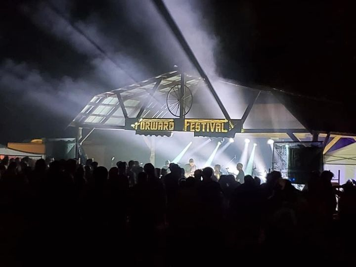 Awesome shot from Forward Festival this past weekend. Sound and lighting production by East Piedmont Sounds.