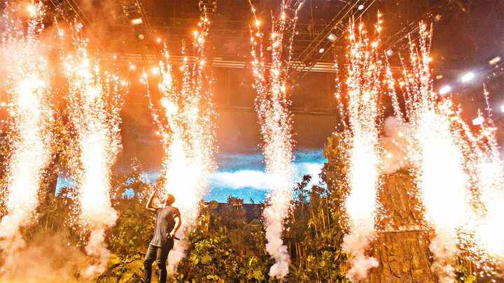Check out Drake 's explosive set from The Governors Ball Music Festival Shot by Jonathan Manarang Photography http://bit...