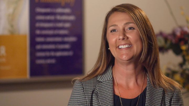 Jennifer Steward facilitates a student rotation at Palmer College that enables students to work a rotation with Palmer's...