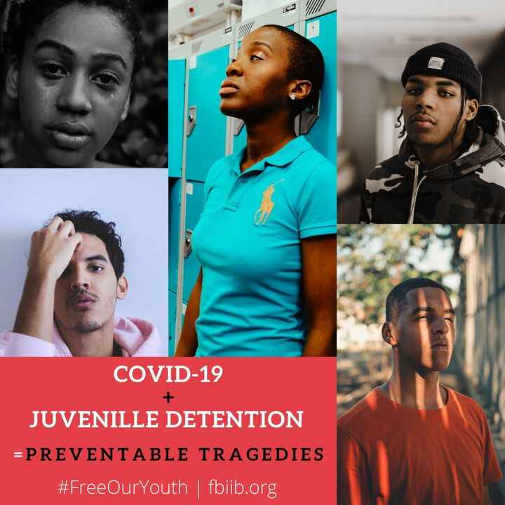 Concern for our incarcerated-youth has never been more critical than now. Help amplify our call for releasing the many t...
