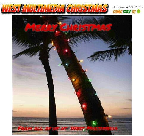 Merry Christmas from all of us at West Multimedia