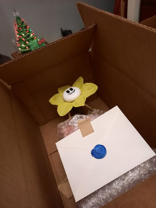 The last of the Floweys are heading out fir the Christmas Rush! Hope you all have a Happy Holidays!