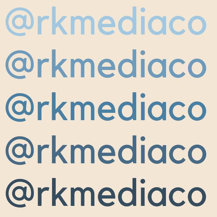 """Friendly reminder that we've moved! Head to our new page, RK Media Co, and give us a """"like"""" to follow along! ✔️"""