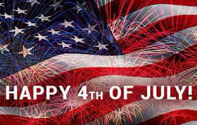 KMCJ wishes everyone a happy 4th of July