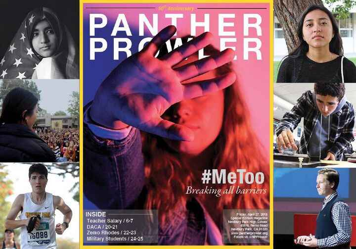 The Panther Prowler's Special Edition Magazine is here. Pick up your copy in the quad at lunch. Articles will be availa...