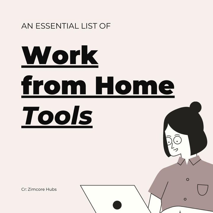 COVID-19 has created this new norm of working from home. Here are some tools you need to make your work from home experi...