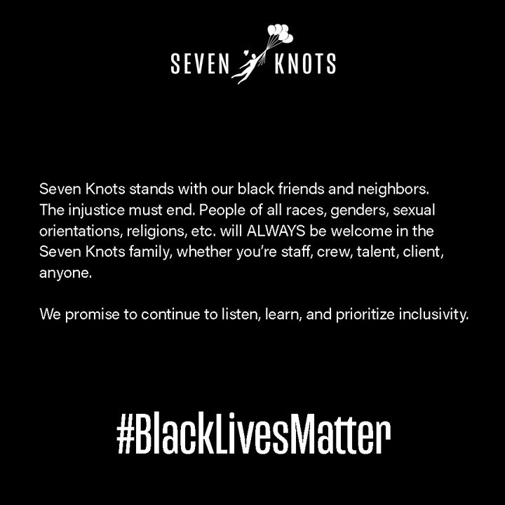 Seven Knots stands with our black friends and neighbors. The injustice must end. People of all races, genders, sexual or...