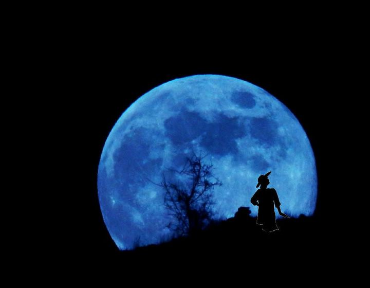 We'll be blue-mooning with Mrs. Porter on August 29th - RSVP by Thursday to save your spot at her rousing Art & Literary...