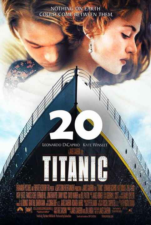 """December 19, 1997: James Cameron's epic tale, """"Titanic,"""" starring Leonardo DiCaprio and Kate Winslet, debuted in US thea..."""