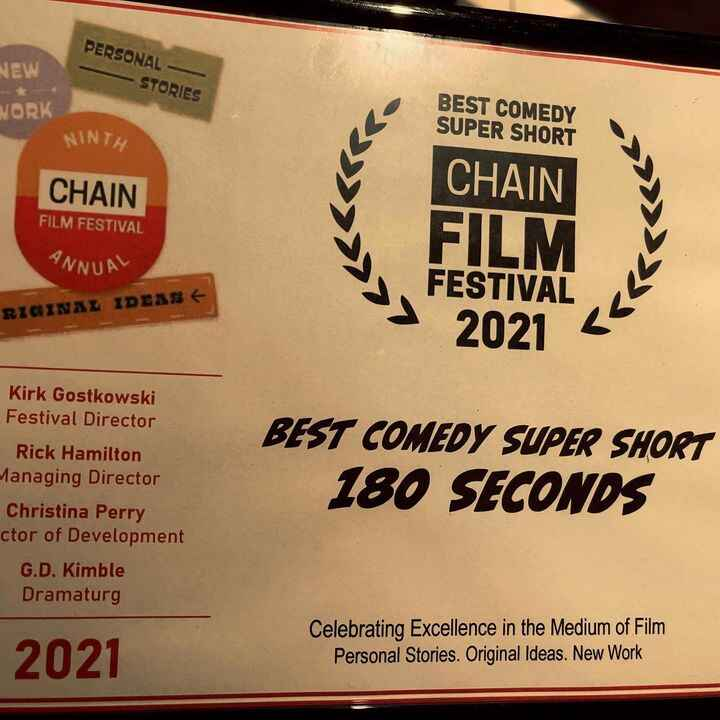 180 Seconds got some well deserved recognition in New York. Next up are screenings at the #hollyshortsfilmfestival and #...
