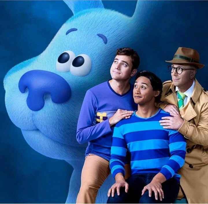 """If you have lil ones, tune into Nickelodeon today at 1pm for the premier of """"Blues Clues and You"""", the 3rd generation of..."""