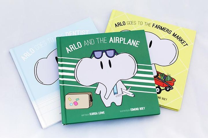 Get an adorable set of boutique children's books! Makes the perfect gift! Parents and kids love Arlo!