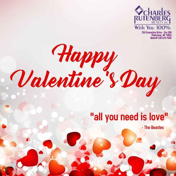 Have a great Valentine's Day Weekend Everyone!