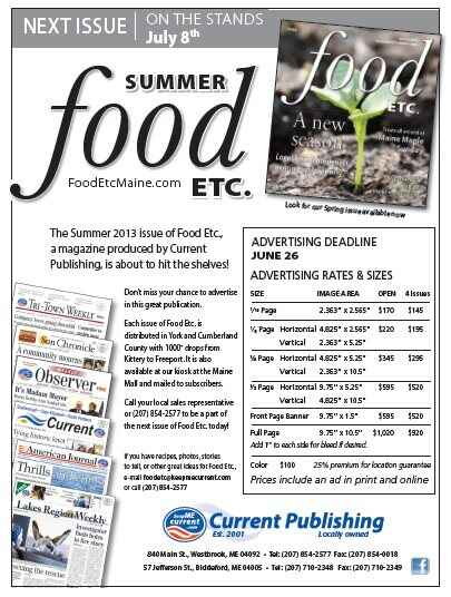 Summer Food Issue to be out on stands July 8th!