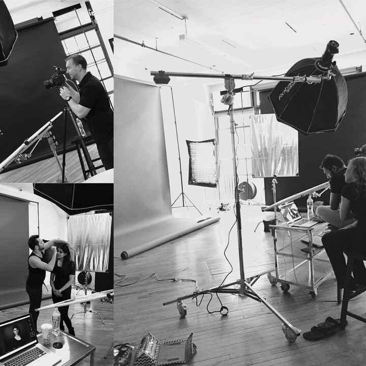 Behind the scenes look at @gregjkonop at @lumina8studios   To book studio time for your shoot go to www.lumina8studios.c...