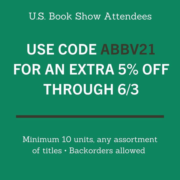 Thanks to everyone who stopped by our virtual booth at the @publisherswkly #USBookShow! Just a reminder than the show sp...